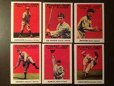 1915 Cracker Jack MLB reprint baseball cards - One card