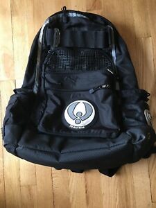 RAVEN USA Paintball Expanding Storage Padded Bag Backpack Black