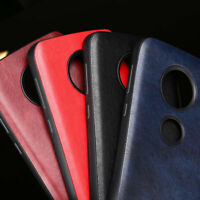 Case for Motorola Moto G6 G5S G7 Plus Luxury Fashion leather Skin and soft cover