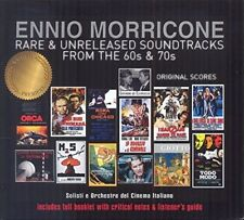 OST/RARE & UNRELEASES SOUNDTRACKS 2 CD NEW+ MORRICONE,ENNIO