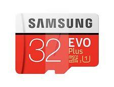 SAMSUNG EVO PLUS MICRO SDHC 95MB/s Read 20MB/s Write 32 GB FLASH MEMORY CARD A