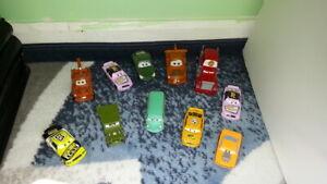 Disney Pixar Cars Movie Cars LOT of 11 0139