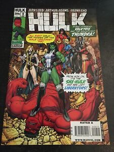 "Hulk#9 Awesome Condition 6.5(2009) Art Adams Art,""Cho Variant"""