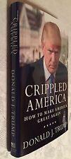 PRESIDENT Donald J Trump COA Personally Signed Crippled America Make Great Again