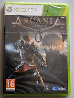 Jeu ARCANIA GOTHICA sur Xbox 360 NEUF sous blister VF