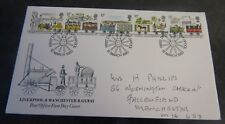 Mar 1980 Liverpool & Manchester Railway First Day Cover SHS (b2)