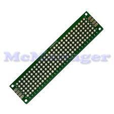 Drilled Double sided Copper Prototype PCB Matrix Epoxy Glass Fibre Board 20x80mm