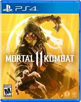 Mortal Kombat 11 (PS4 / Playstation 4) Brand New Sealed