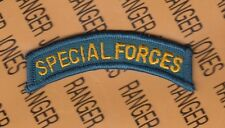 Us Army Dress Special Forces Qualification Sf Tab Arc patch