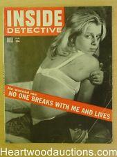 """Inside Detective"" January 1957"