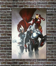"Thor Avengers Captain Iron Man Art Painting Hand-Painted on Canvas Movie 30""x40"""