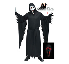 NEW E.L Scream/Ghost Face® Costume (Adult One Size) Halloween Horror Costume