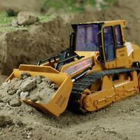 1:12 RC Excavator Shovel Remote Control Construction Bulldozer Truck Toy + Light