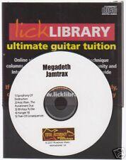 Lick Library Megadeth Play Guitar jamtrax Jam Trax CD Apprendre Hanger 18 Rock Hits
