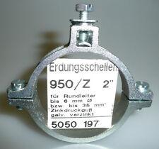 """Erdungsschelle - Erdungsschellen OBO-Bettermann 950/Z- 2"""""""
