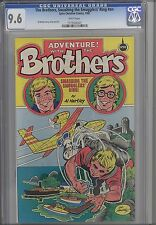 The Brothers, Smashing the Smuggler's Ring #nn CGC 9.6 1982 Spire Comic: