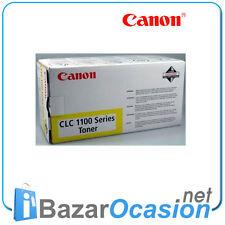 Toner Canon CLC 1100 Series Amarillo 1110 1120 1130 1150 1180 Original Nuevo