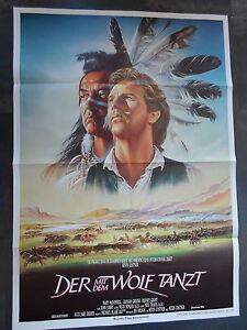 DER MIT DEM WOLF TANZT - Filmplakat A1 - Kevin Costner, Graham Greene