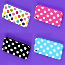 Lot 6 Rubeerrize Back Skin Case TPU Hard Cover Protector for iphone 4 4S 4G
