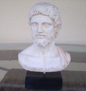 Asclepius God of Medicine Healing - Greek Mythology - Health God Bust -Asclipios