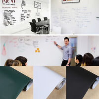 Removable Whiteboard Wall Sticker Dry Board Erase Vinyl Decor Decal Office Acces