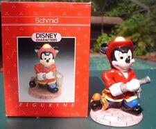 Disney Mickey Mouse Fireman Schmid porcelain Figurine