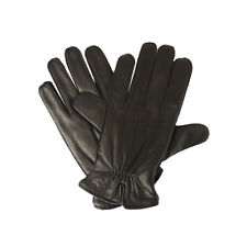 New Dockers Mens Genuine Leather Gloves Size L Black/Brown