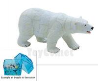 Polar Bear Polar Life Animal Part I 4D 3D Puzzle Realistic Model Kit Toy