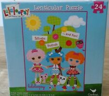 NEW Lalaloopsy Lenticular Puzzle 24 Piece 12in x 9in BUTTON EYE DOLLS