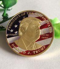 gold USA MAKE AMERICA GREAT AGAIN President Trump Commemorative Memorial coins