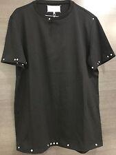 New Maison Martin Margiela Studded T-Shirt, Black, Size 50
