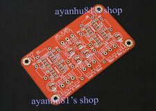Balanced to unbalanced stereo pre-amplifier headphone amp low distortion PCB