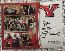 New listing Jim Tressel Signed 8 X 10 Picture Autographed Youngstown State