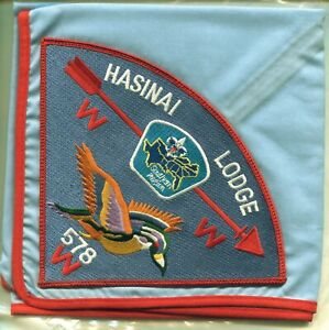 Lodge 578 Hasinai, Neckerchief With Patch, P4 One per Advancement