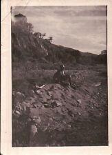 """VERA FOTO """" GUSTANDO UN TRAMONTO AFRICANO """" ETIOPIA ITALIANA MILITARE 23-19"""