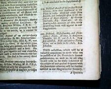 FORT STANWIX John Johnson Siege Revolutionary War Ben Franklin 1779 Magazine