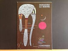 Derriere le Miroir 179 Wassily Kandinsky lithographs 1969 Maeght vintageINV2124