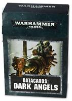 Games Workshop: Warhammer 40k Datacards: Dark Angels 44-02-60