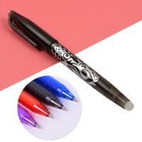 0.7mm Erasable Gel Ink Ballpoint Pen Plastic School Office Stationery Writing