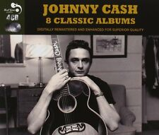 Johnny Cash EIGHT (8) CLASSIC ALBUMS Fabulous GREATEST Ride This Train NEW 4 CD