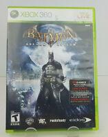 Batman: Arkham Asylum (Microsoft Xbox 360, 2009) Complete