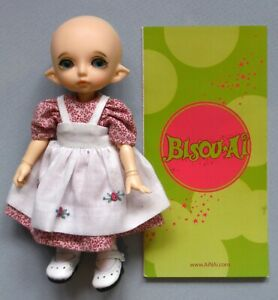 "Bisou-Ai 2008 Limited Edition Doll with Certificate 5 3/4"" P36"