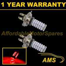 2x H4 Red 120 Led Frontal principal de irradiación & húmedas Beam Faros Kit de coche Xenon hm501001