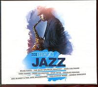JAZZ - ESSENTIALS - BEST OF 2 CD COMPILATION NEUF ET SOUS CELLO