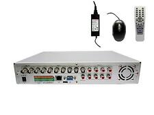 8 Channels Surveillance Recorder DVR. (8x Video & 8x Sound)