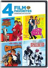 SPIES 4 FILMS - AUSTIN POWERS 1+2+3  + SPIES LIKE US MIKE MYERS CHEVY CHASE  R1