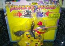 Britains Knights Of The Sword Yellow Power Knight pull back action carded new