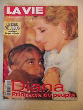 LA VIE  n° 2714/10 sept 1997 DIANA princesse du peuple. L'homme en Dieu