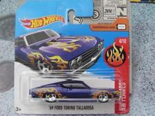 Hot Wheels 2017 #182/365 1969 FORD TORINO TALLADEGA purple HW Flames