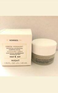 KORRES Greek yogurt advanced nutritional sleeping facial 1.35 oz FREE SHIPPING.